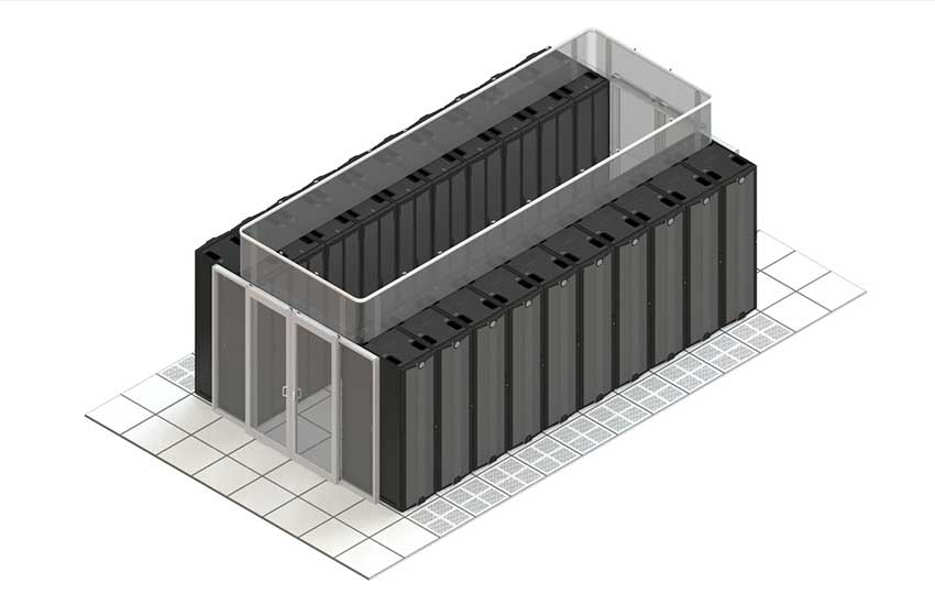 Hot Aisle Containment Systems For Data Centers Subzero